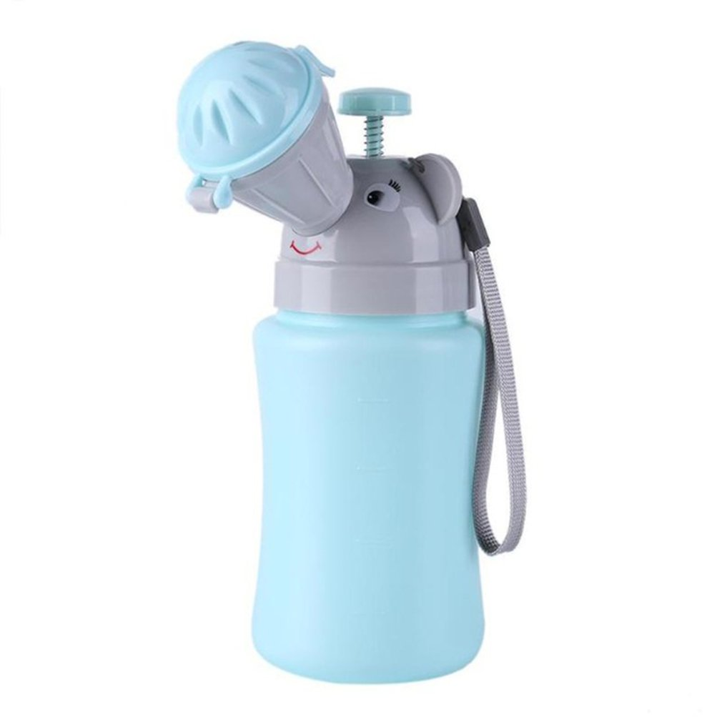Portable Convenient Travel Cute Baby Urinal Kids Potty Girl Boy Car Toilet Potties Vehicular Urinal Traveling Urinals Pot 500ml