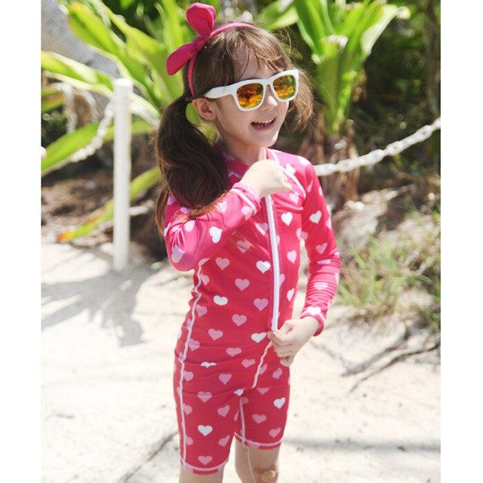 A Key Agent South Korea KID'S Swimwear Foreign Trade Children Childrenswear Girls BOY'S Siamese Swimsuit