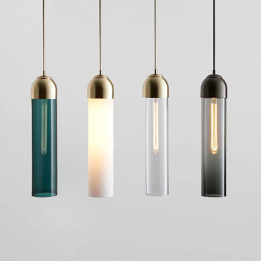 PostModern LED Pendant Lamp Creative Glass Pendant Lights Nordic Indoor Living Room Lamp Meal Bar Bedroom Bedside Decor Fixtures