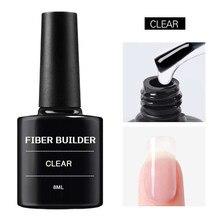 Верхнее покрытие для дизайна ногтей Уход за ногтями из стекловолокна шелковая наклейка для ногтей для гелевого наращивания УФ-поглощающий ...
