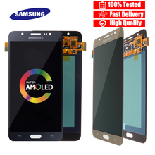 Original 5.5 Super Amoled LCD For Samsung Galaxy J7 2016 J710 J710F J710M J710G LCD Display Touch Screen Digitizer Replacement