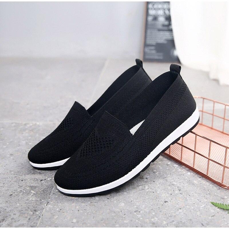 2020 sapatos de malha respirável meia calça
