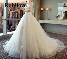 Rubilove Dress trailing princess dream 2019 new spring elegant tube top tail out