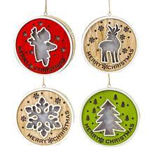 цена Huiran Merry Christmas Decorations for Home Ornaments Wooden Christmas Tree Decor Cristmas 2019 Xmas Navidad Happy New Year 2020 в интернет-магазинах