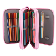 Oxford School Pencil Case Kawaii 32/58/72 Holes Penalty Pencilcase Large Pen Bag Box Multi Kids Multifunction Stationery Pouch sketch school pencil case 72 holes penalty pencilcase large zipper pen bag four multi layers boy girls set box stationery pouch