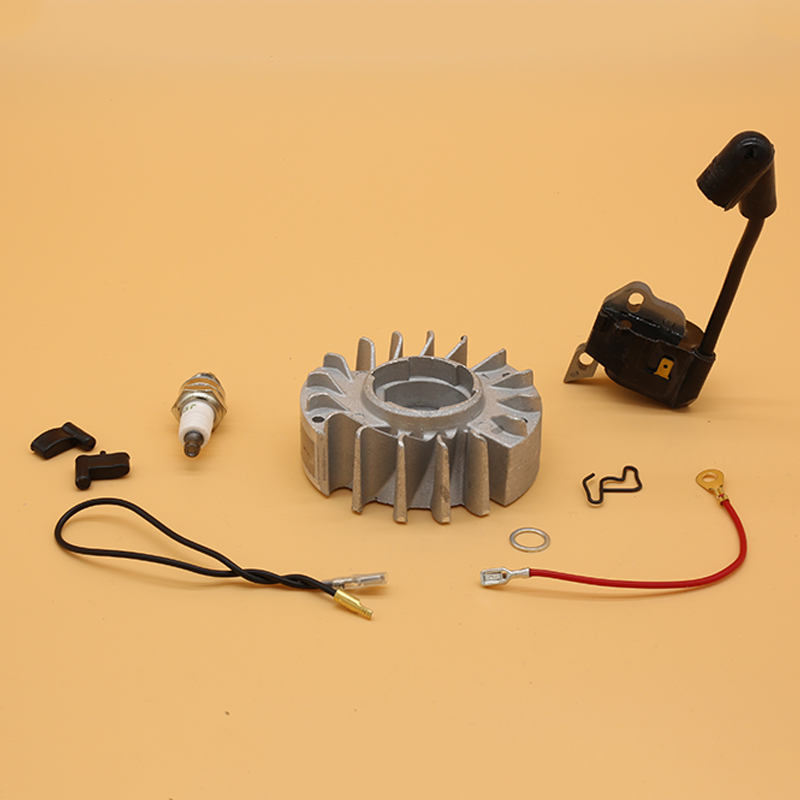 MS STIHL Gas Parts For Coil MS180 Plug 170 017 Ignition Chainsaw Kit 180 Spark 018 Wire Magneto MS170 Flywheel