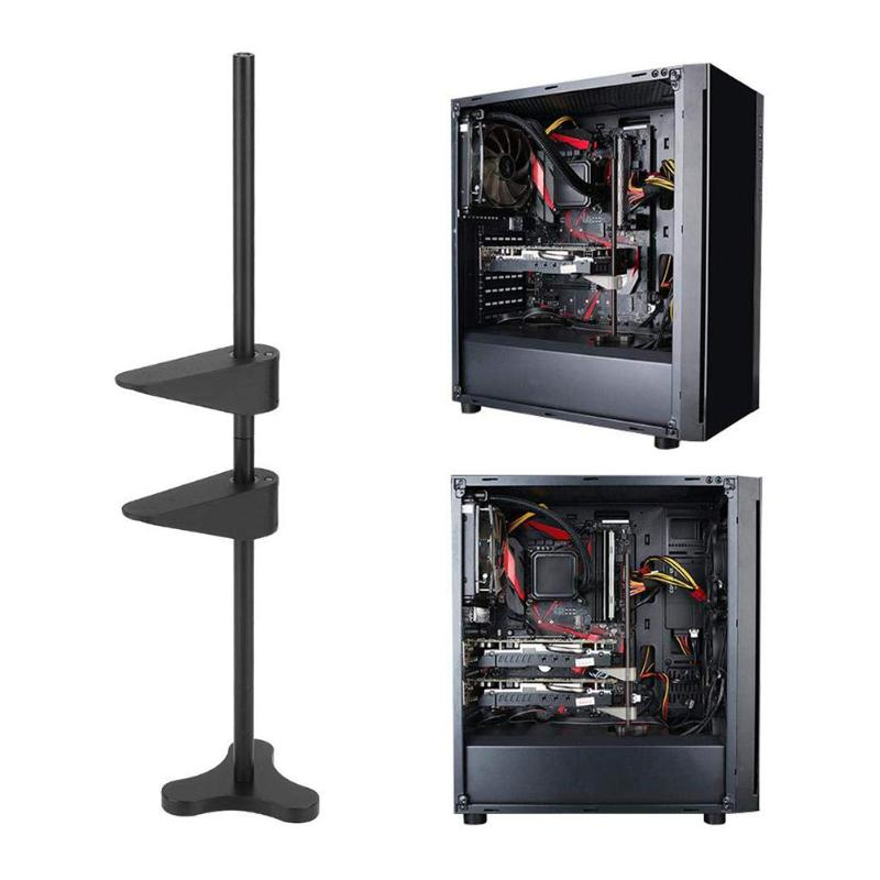 Flexible Computer GPU Support Metal Graphics Card Stand Multi-purpose All Aluminum Magnetic Headphones Video Card Bracket Frame