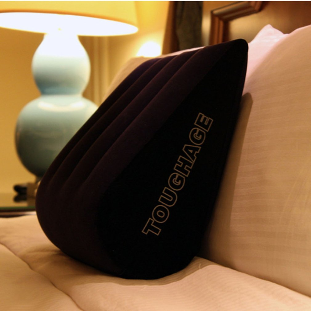 TOUGHAGE Inflatable Sex Aid Pillow Flocking Pillow Love Position Cushion Sex Furniture Machine For Women Erotic Sofa Adult Game