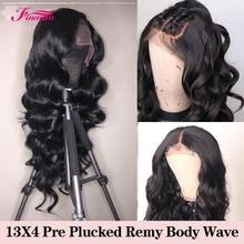 250% плотность бразильские волосы на кружеве al человеческие парики для черных женщин remy волосы с волосами младенца 8-24 волнистые волосы 13x4