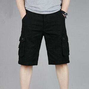 Image 5 - البضائع السراويل الرجال الصيف عادية موليت جيب السراويل 2020 الرجال الركض السراويل السراويل الرجال تنفس كبير طويل القامة 42 44 46 حجم كبير