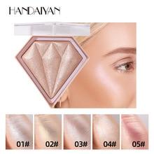 Highlighter-Powder Makeup Cosmetic Facial-Bronzer Illuminator Face-Contour Glow Diamond