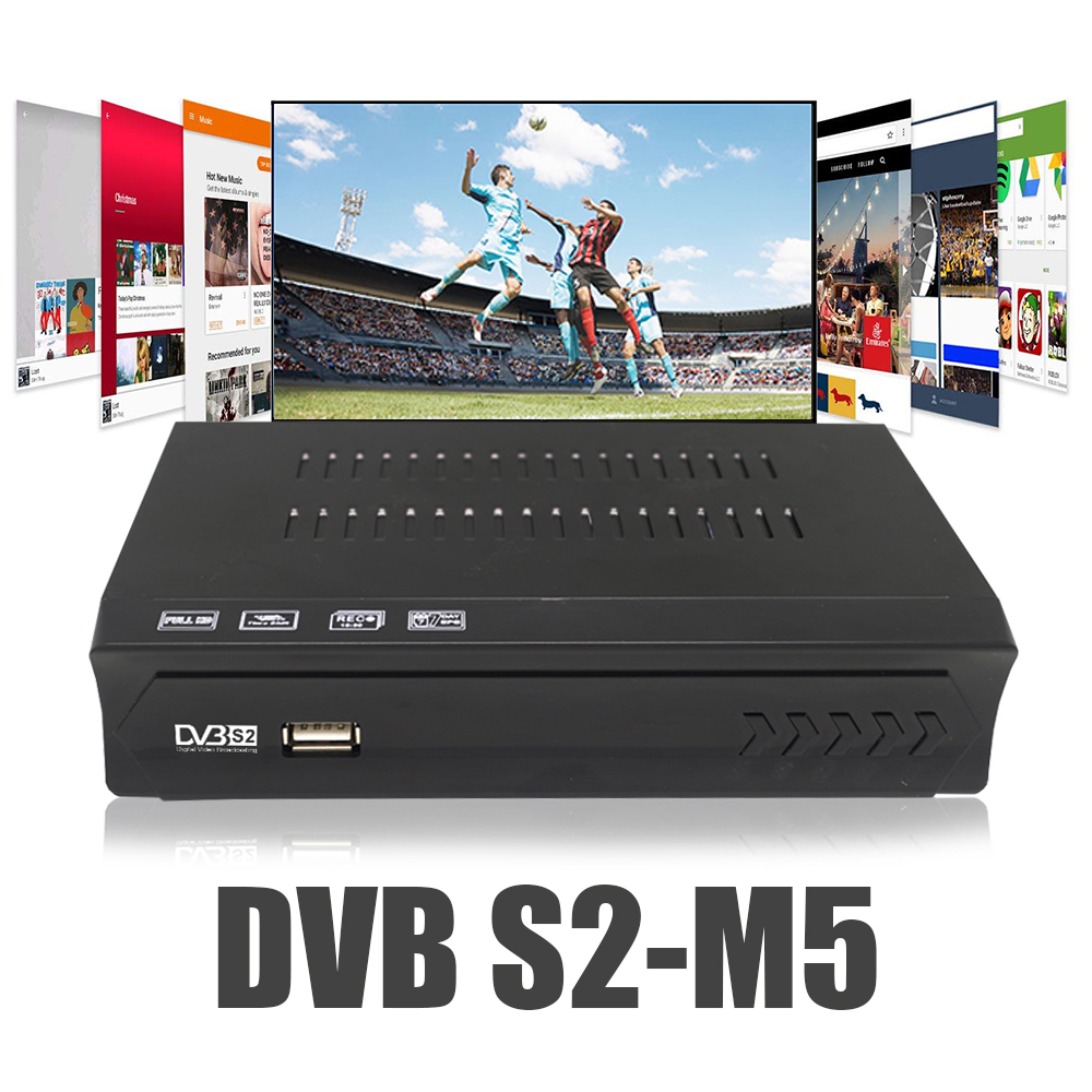 Image 4 - Vmade Fully HD Digital DVB S2 Satellite Receiver DVB S2 TV BOX MPEG 2/ 4 H.264 Support CCCAM HDMI Set Top Box For RUSSIA /Europe-in Satellite TV Receiver from Consumer Electronics