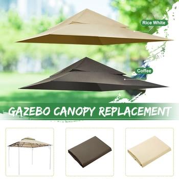 Toldo Gazebo impermeable al aire libre recambio fantástico cubierta de 2 niveles...