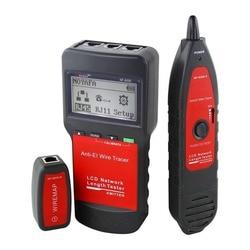 NF-8200 NOYAFA LAN RJ45 Тестер кабеля Ethernet сетевой провод трекер длина кабеля тестер с подсветкой ЖК-дисплей