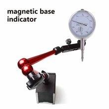 2 em 1 comparador magnético do indicador do teste do seletor do suporte 0-0.8mm da base do indicador do seletor do jogo 10mm para a ferramenta da calibração do equipamento