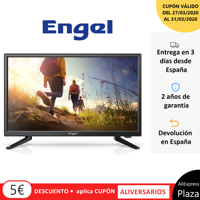 "Television ENGEL LE2250 EVER - LED 22 ""Special, caravans, camping, TV, Plaza España"