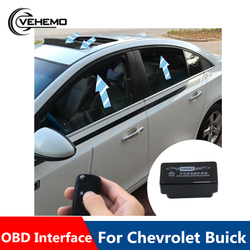 OBD Auto Car Window Closer Vehicle Glass Door Sunroof Opening Closing Module System No Error Car For Chevrolet Cruze accessories