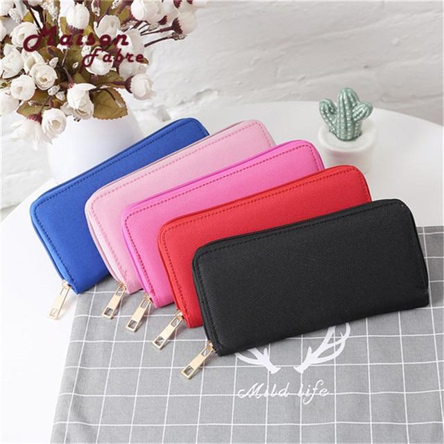 Superior Quality Fashion Women's Oxford Road Wallet Coin Bag Purse Phone Card Holder Billfold Purse Money Bag A# dropship