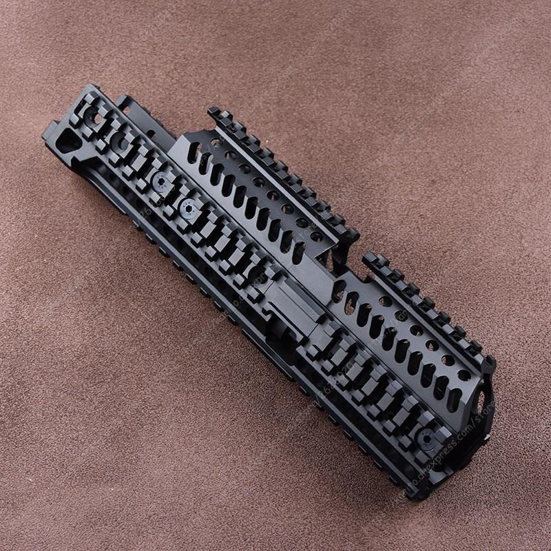 Полная ЧПУ легкая направляющая Пикатинни система крепления Верхняя Нижняя часть Baswe B30 B31 для AK 47 103 104 105 74M M2019