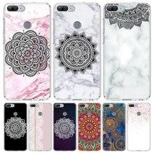 Floral Paisley Mandala Abdeckung Telefon Fall für Huawei Y5 Y6 Y7 Y9 2019 Ehre 8A 8S 8X 7A 7X 9 10 20 Lite Pro 10i20i V30 Coque Shell