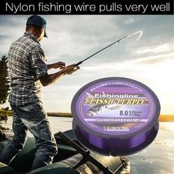100/150/200/300/500M Fluorocarbon Monofilament Nylon Fishing Line Carp Fishing Main Line With Plastic Box Fishing Accessories