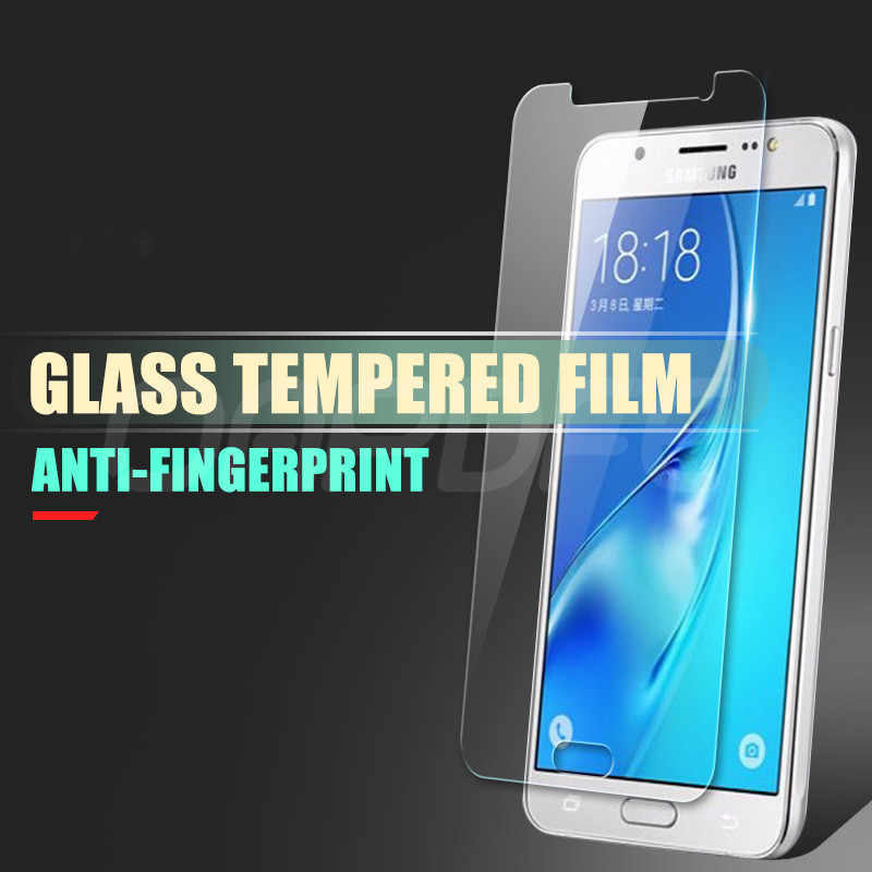9H ป้องกันกระจกนิรภัยสำหรับ Samsung Galaxy J3 J5 J7 2015 2016 2017 J2 J4 J6 J8 Plus 2018 กระจกนิรภัยหน้าจอป้องกันกระจกฟิล์ม