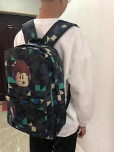 ROBLOX Backpack Laptop School-Bags Teenagers Travel Boys Kids Student Children Unisex