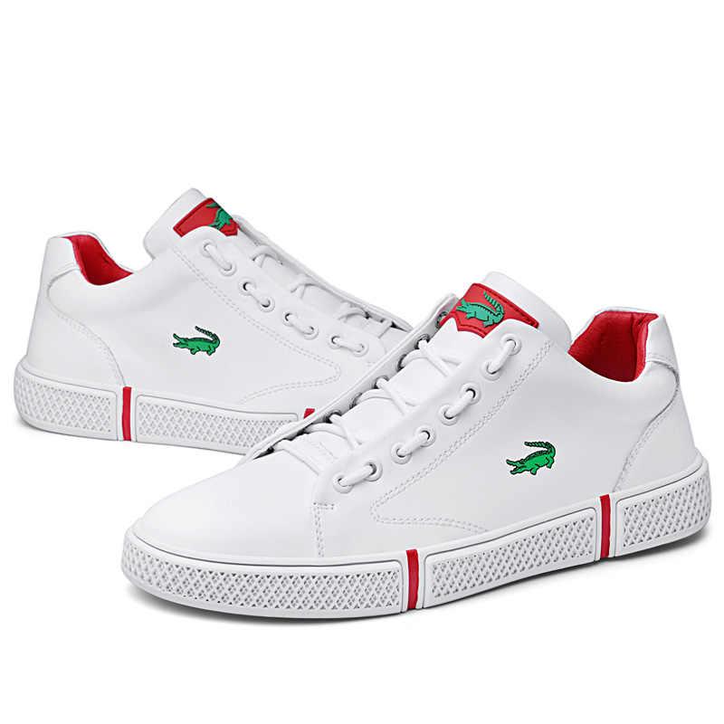 CARTELO Putih Sepatu pria Kasual Liar sepatu Pria Baru Olahraga Sepatu pria Tren