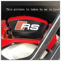 for Audi 1.8-2.0 all seriesA4L A5 A6L Q5 A7 retrofit RS4 RS5 RS6 RS7 Rear brake caliper metal label