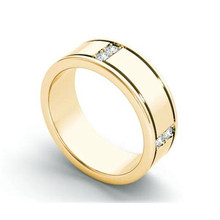 Charm Female Male White Zircon Ring Trendy Gold Round Wedding Rings For Women Men Dainty Big Crystal Stone Engagement Ring trendy plated white gold environmental alloy narrow width crystal ring