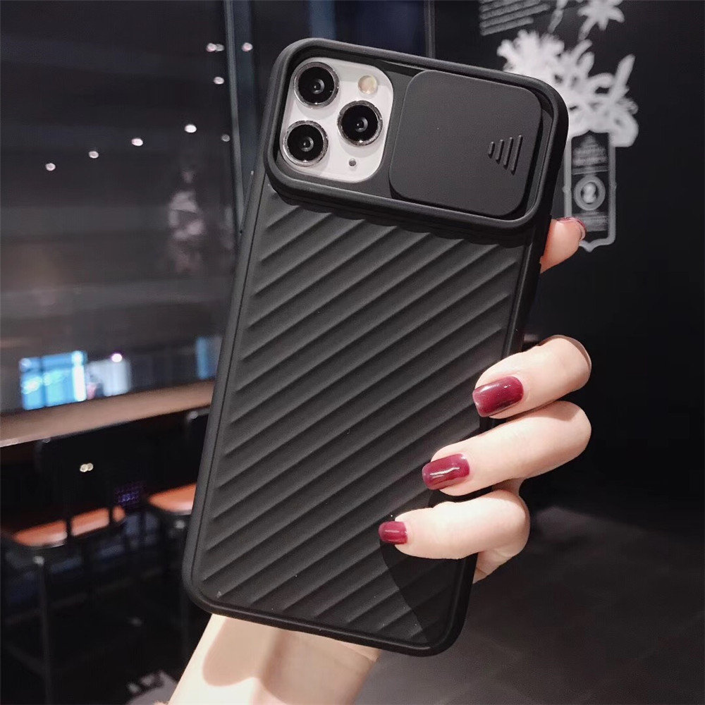 Hbc0244b09e1d423495a22d237c8969f16 - Lovebay Camera Protection Shockproof Phone Case For iPhone 11 Pro X XR XS Max 7 8 Plus Solid Color Soft TPU Silicone Back Cover