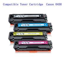 цена на Compatible Canon 045 045H Toner (CRG-045H) High Yield Toner (4-Pack) for Canon ImageCLASS MF634Cdw MF632Cdw LBP612Cdw