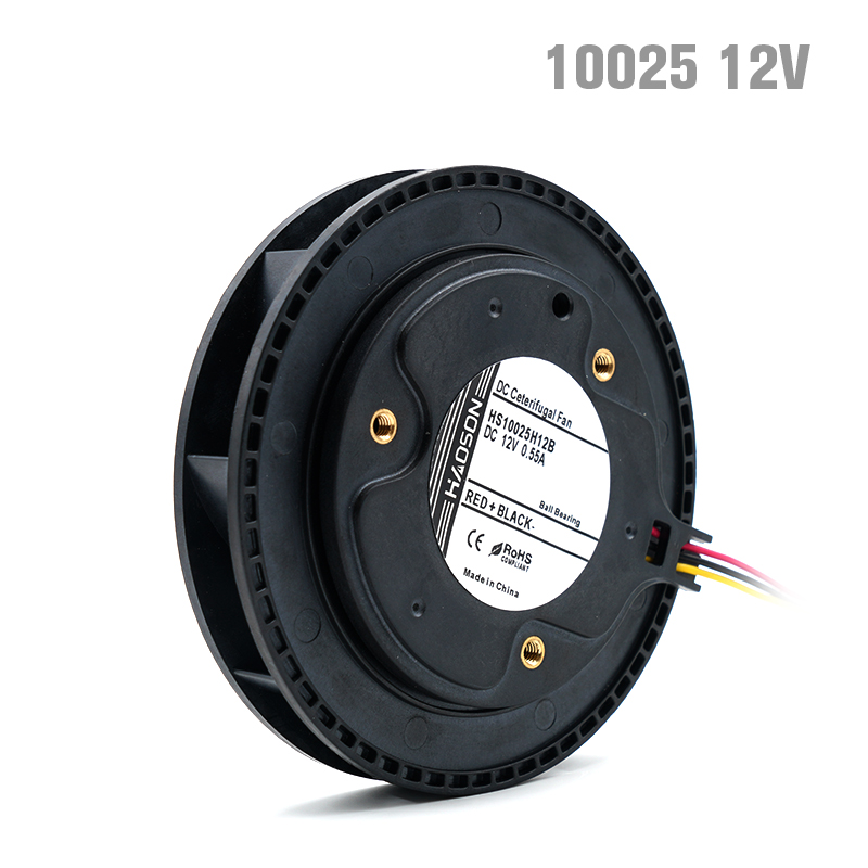 blower fan 100*<font><b>25mm</b></font> 10025 DC24V <font><b>12V</b></font> air blower, Centrifugal fan,Brushless DC <font><b>motor</b></font>, ball bearing car air purifier image