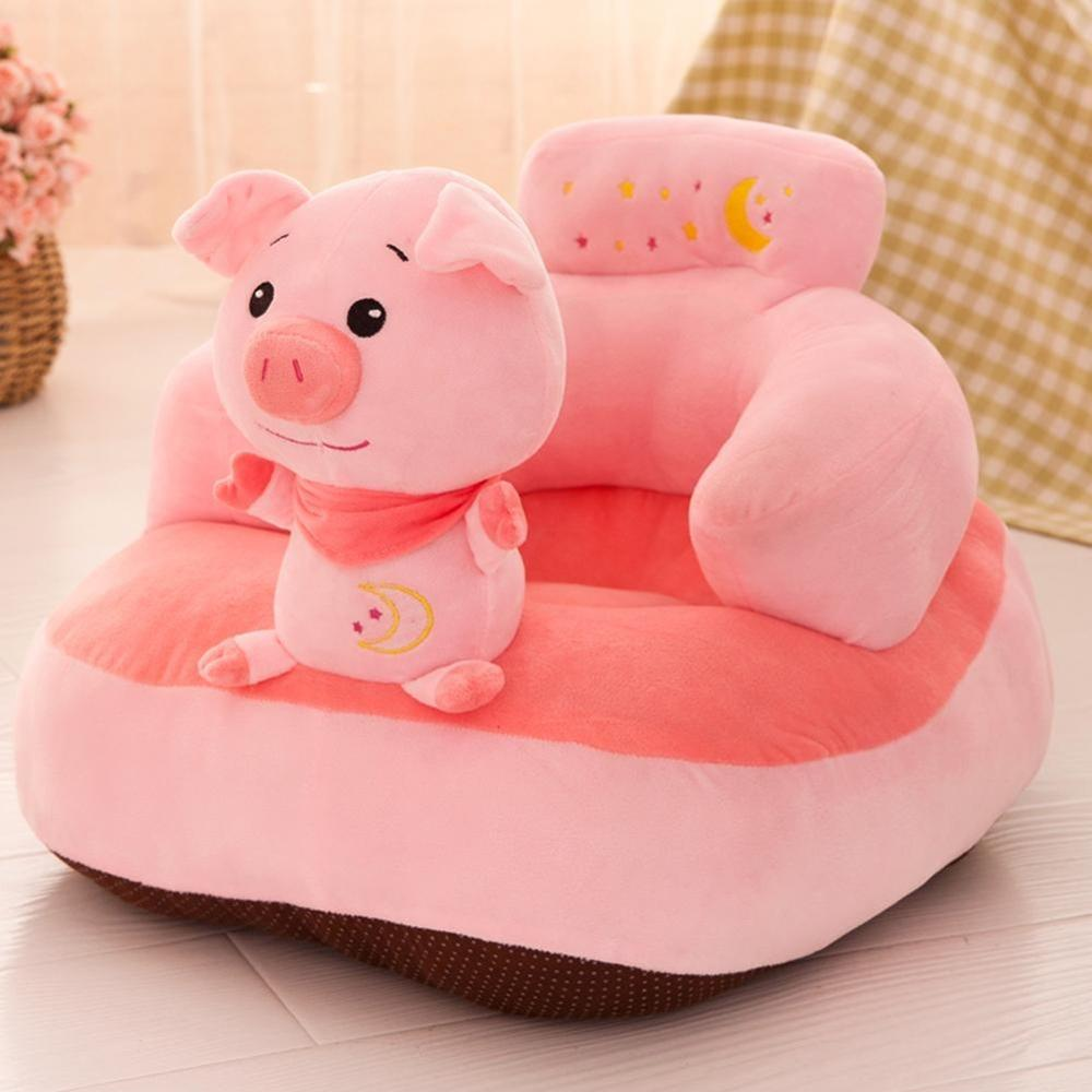 Baby Learnin Seat Sofa Cover Without Cotton Soft Seat Sofa Clothes Feeding Chair Cover Kids Sofa Skin For Infant Nest Cover