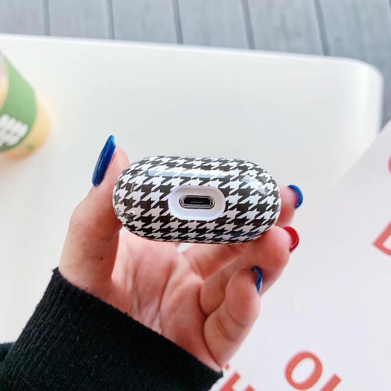 Роскошный брендовый Жесткий ПК беспроводной чехол для зарядки