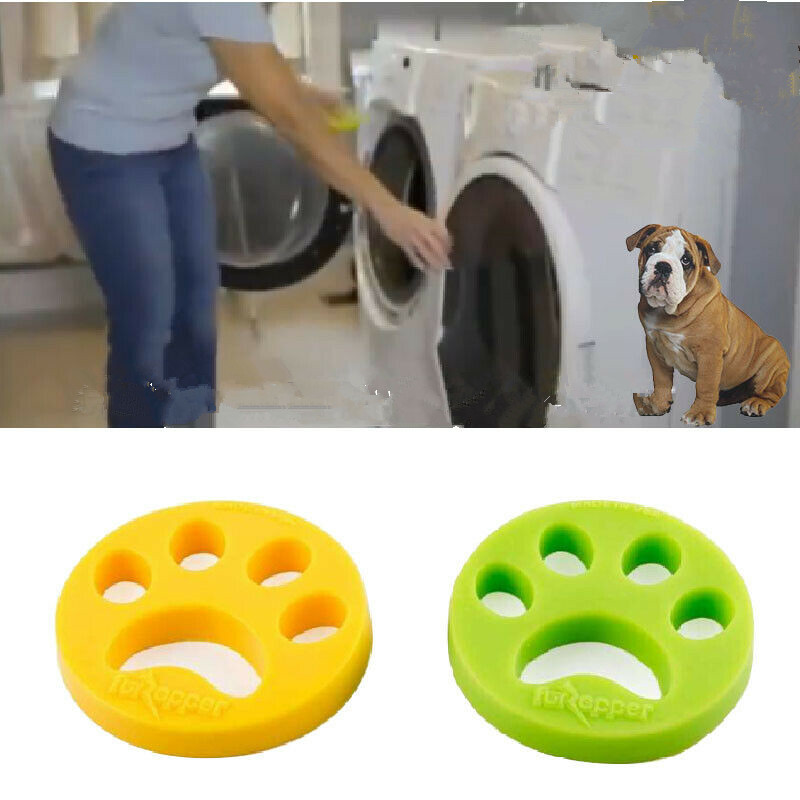 US $1.94 30% OFF|Pet Hair Remover Washing Machine Reusable Laundry Fur Catcher Cleaning Products Accessories wasmachine haar verwijderaar|Laundry Balls & Discs| |  - AliExpress