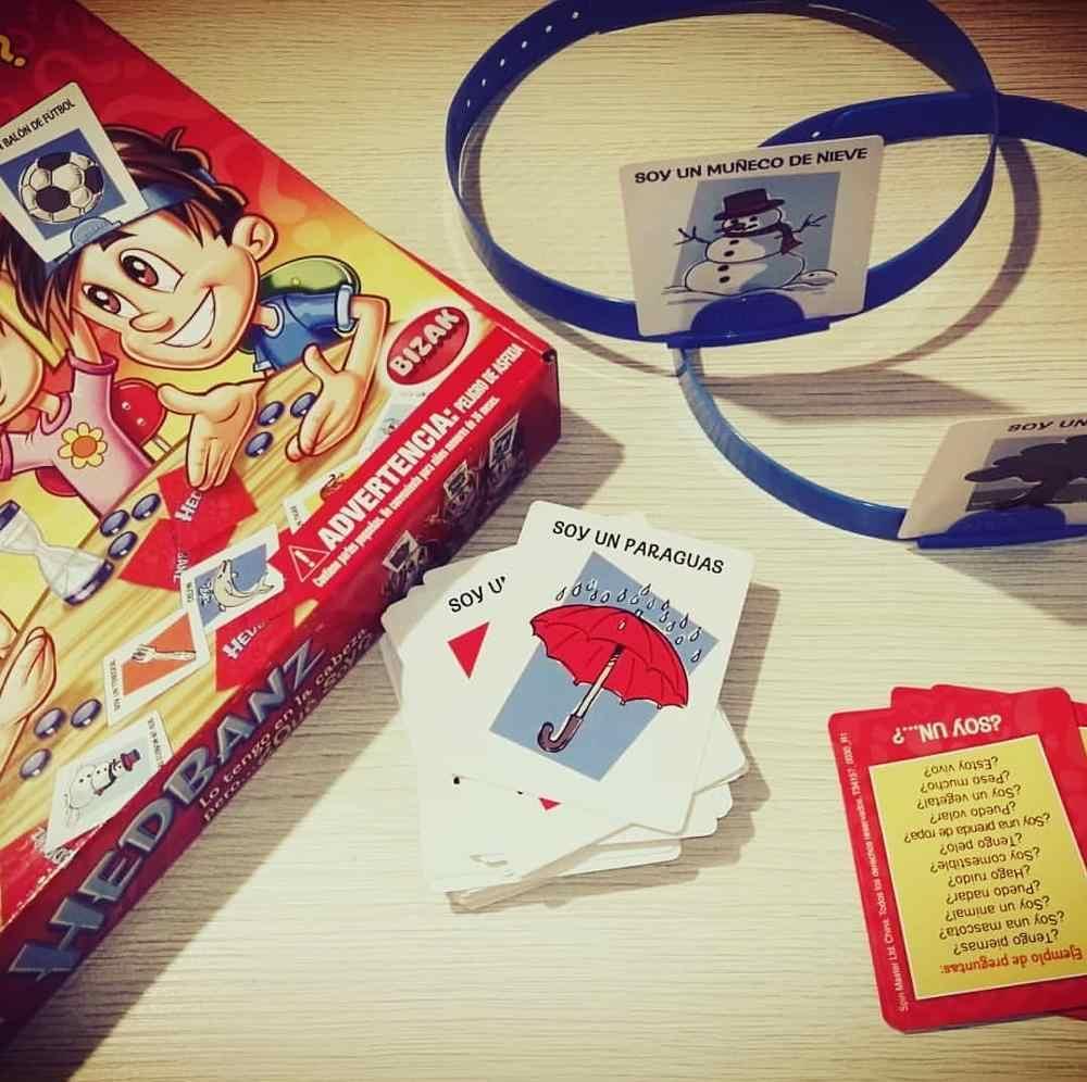 Nieuwe Hedbanz Game De Quick Vraag van Wat ben IK Kaarten Board Game Funny Gadgets Nieuwigheid Speelgoed Kinderen ouders party games 1