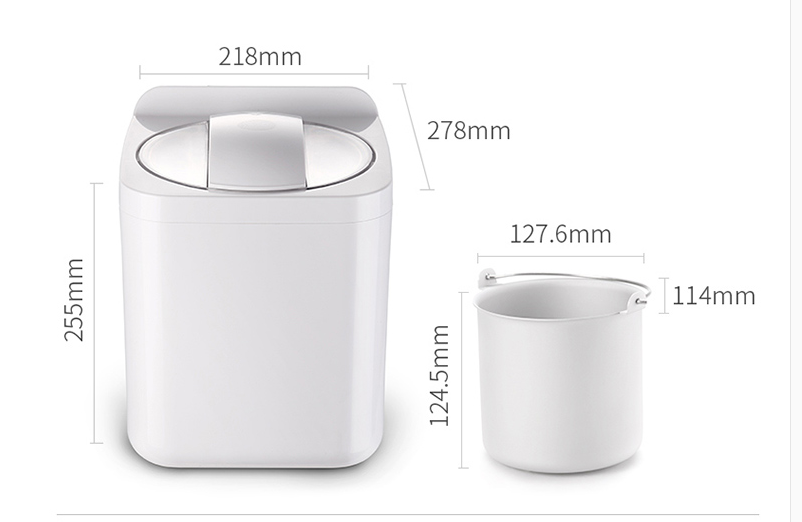 1L Automatic and Intelligent Mini Ice Cream Maker for Household to Prepare Delicious Ice Cream and Sorbet 17