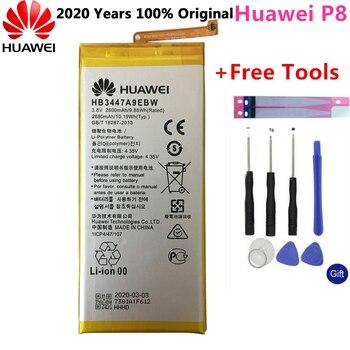 Batería Original de Hua Wei, HB3447A9EBW para Huawei Ascend P8 GRA-L09 GRA-UL00, GRA-UL10 de 2600mAh, Li-ion con juego de herramientas
