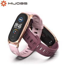 Para Mi Banda 6 Correa para Mi banda 5 Silic Gel pulsera para Xiaomi Mi curva 3 4 Xaomi Xiomi pulsera Correa accesorios de repuesto