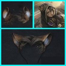 Ear-Headwear Cosplay-Accessories Twisted-Wonderland Hairclip Halloween-Props Kingscholar