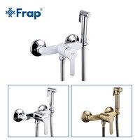 Frap Hohe Qualität Bidets Wasserhahn Antike Weiß Wc Reiniger Set Dusche Spray Bidet Sprayer Wc Armaturen Hygienische Dusche