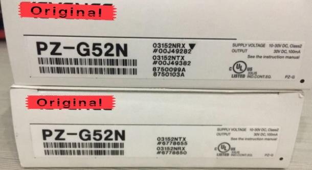 PZ G52N Встроенные датчики усилителя фотоэлектрический переключатель квадратный трансмиссионный кабель тип NPN новый оригинальный