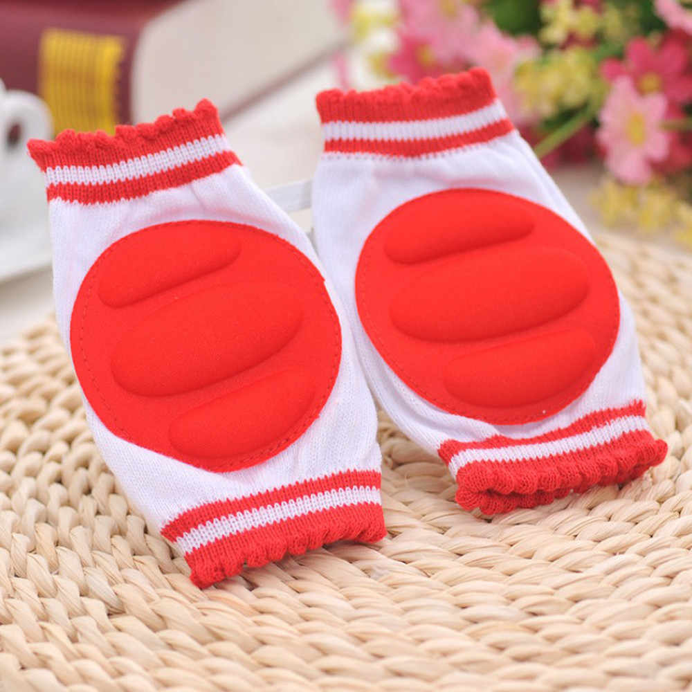 5 Color Baby Knee Pads Baby Boys Girls Safety Crawling Elbow Cushion Toddlers Knee Pads Protective Gear Safety Crawling