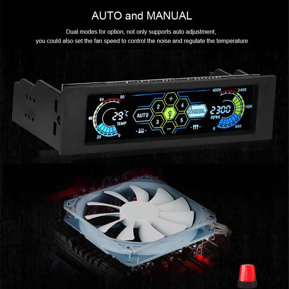 Fan and temp monitor