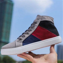 Spring Autumn New Men Fashaion Canvas Shoes High Quality Out