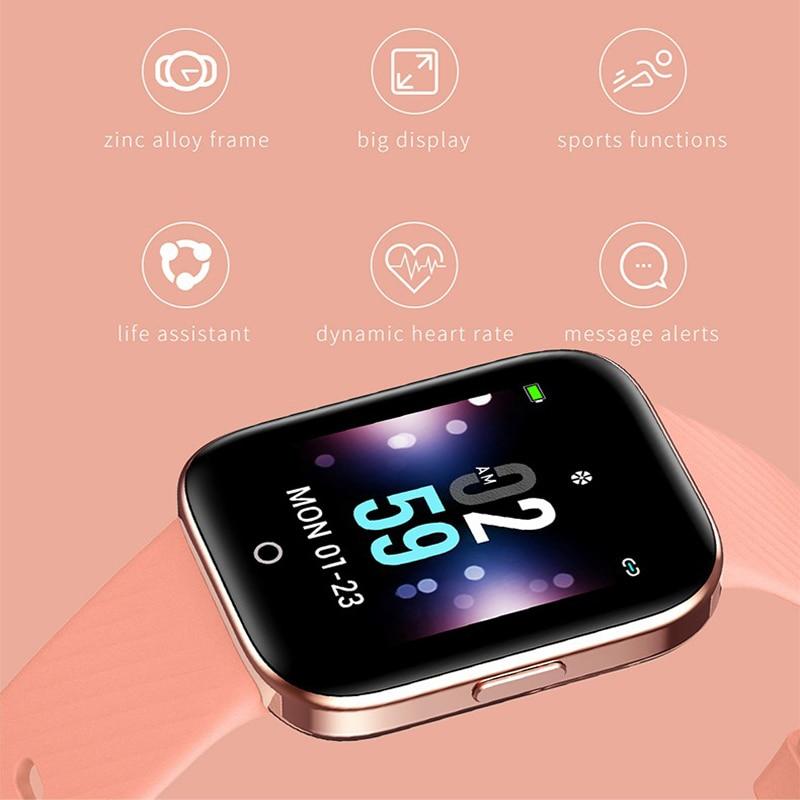 Big SaleÍSmart-Watch Jelly-Comb Monitor-Fitness-Tracker iPhone Xiaomi Waterproof Apple IP68
