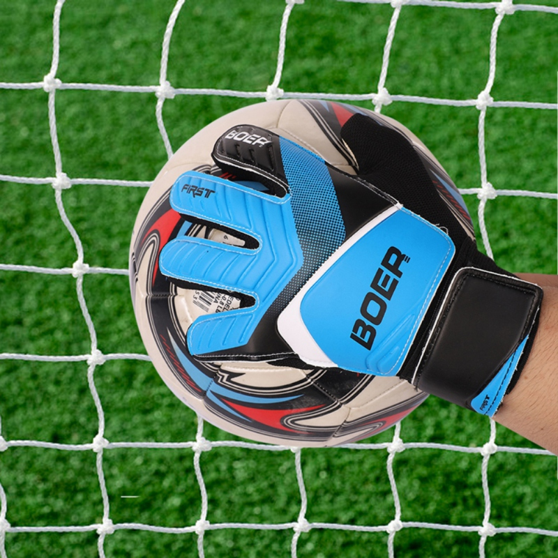 Professional Anti-Slip Goalie Gloves Adult Outdoor Finger Protection Sports Football Soccer Goal Keeper Gloves