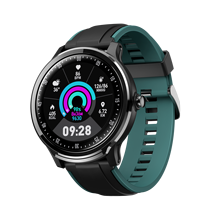 Полностью круглые умные часы с сенсорным экраном SN80 мужские IP68 Водонепроницаемые 3D UI погодные фитнес-трекер для измерения сердечного ритма длинные часы в режиме ожидания