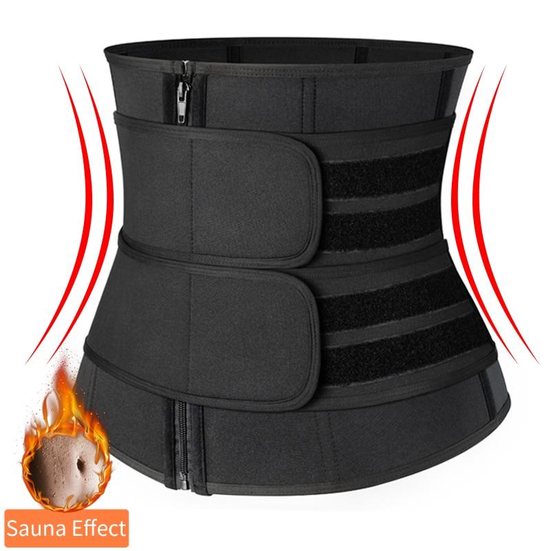 Allenatore in vita Neoprene sudore Shapewear Body Shaper donna dimagrante guaina pancia riduzione Shaper allenamento Trimmer corsetto cintura 1